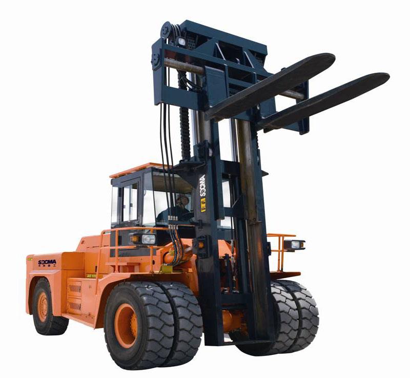 Diesel Forklift Truck Socma Heavy Duty Forklift Truck